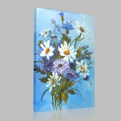 Çiçek Buketi Kanvas Tablo