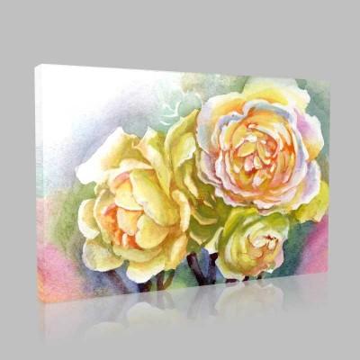 Güller Kanvas Tablo