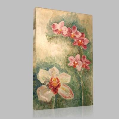 Hüzünlü Çiçekler Kanvas Tablo