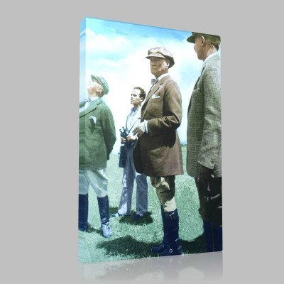 Renkli Atatürk Resimleri 148 Kanvas Tablo