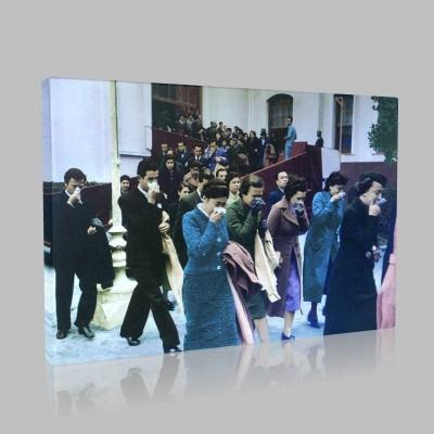 Renkli Atatürk Resimleri 184 Kanvas Tablo