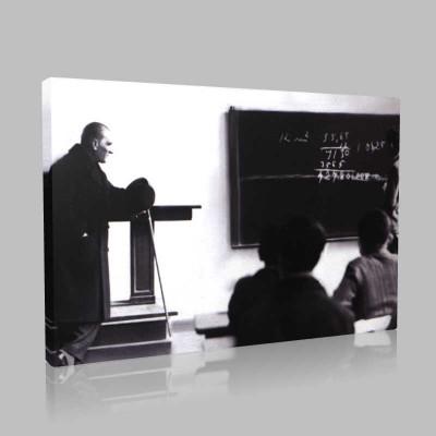 Renkli Atatürk Resimleri 205 Kanvas Tablo