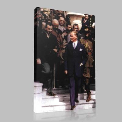 Renkli Atatürk Resimleri 226 Kanvas Tablo