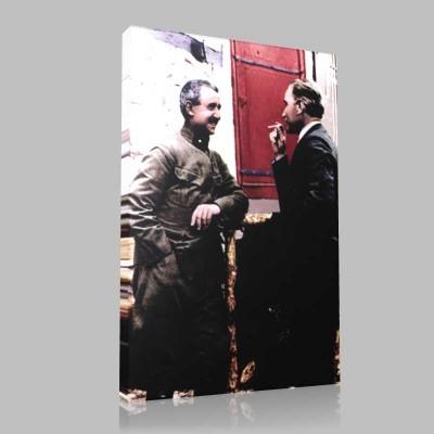Renkli Atatürk Resimleri 227 Kanvas Tablo