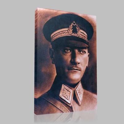Renkli Atatürk Resimleri 23 Kanvas Tablo
