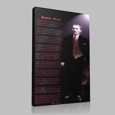 Renkli Atatürk Resimleri 239 Kanvas Tablo