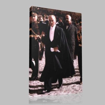 Renkli Atatürk Resimleri 245 Kanvas Tablo