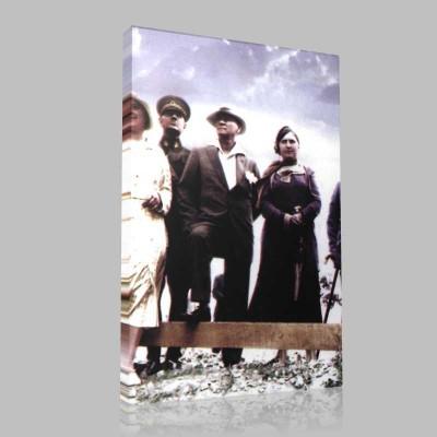 Renkli Atatürk Resimleri 262 Kanvas Tablo