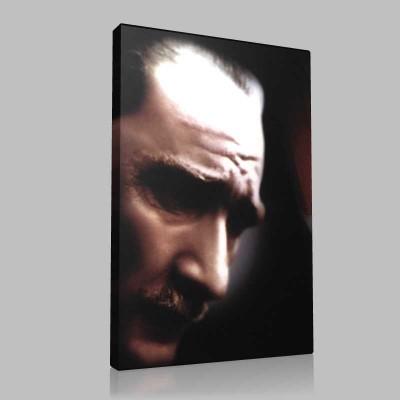 Renkli Atatürk Resimleri 268 Kanvas Tablo