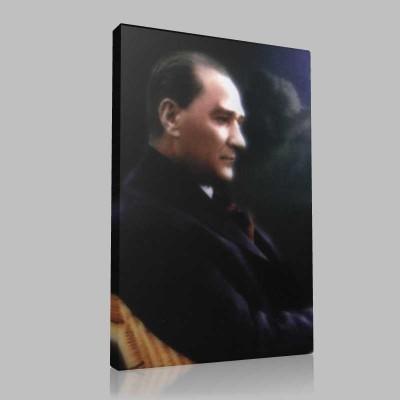 Renkli Atatürk Resimleri 276 Kanvas Tablo