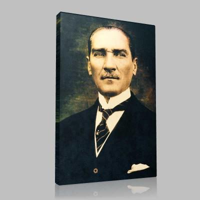 Renkli Atatürk Resimleri 291 Kanvas Tablo
