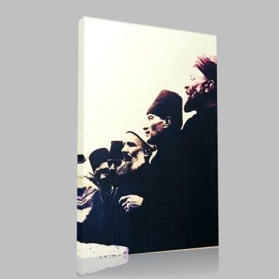 Renkli Atatürk Resimleri 292 Kanvas Tablo