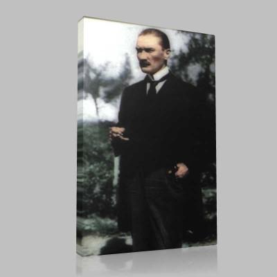 Renkli Atatürk Resimleri 294 Kanvas Tablo