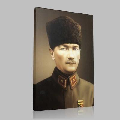 Renkli Atatürk Resimleri 31 Kanvas Tablo
