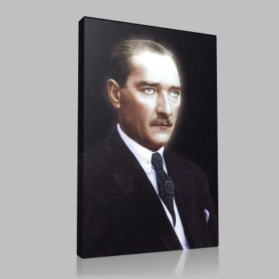 Renkli Atatürk Resimleri 360 Kanvas Tablo