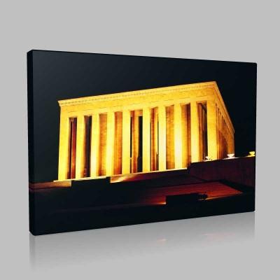 Renkli Atatürk Resimleri 382 Kanvas Tablo