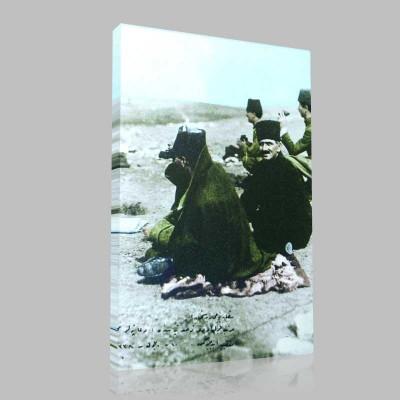 Renkli Atatürk Resimleri 49 Kanvas Tablo