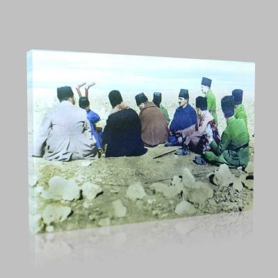 Renkli Atatürk Resimleri 50 Kanvas Tablo