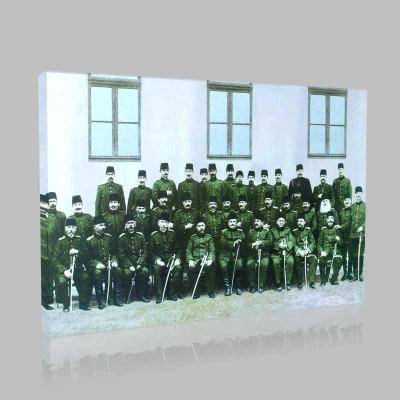 Renkli Atatürk Resimleri 71 Kanvas Tablo