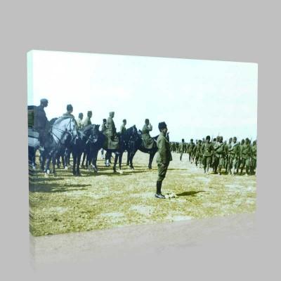 Renkli Atatürk Resimleri 79 Kanvas Tablo