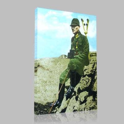 Renkli Atatürk Resimleri 94 Kanvas Tablo