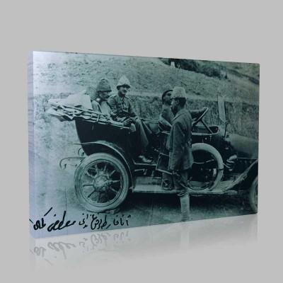 Siyah Beyaz Atatürk Resimleri  139 Kanvas Tablo