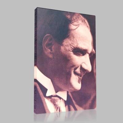 Siyah Beyaz Atatürk Resimleri  164 Kanvas Tablo