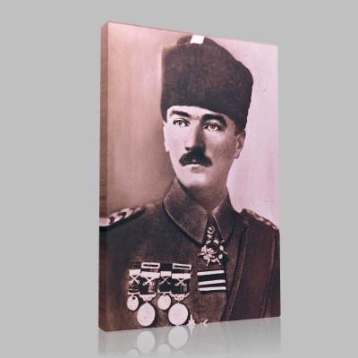 Siyah Beyaz Atatürk Resimleri  170 Kanvas Tablo