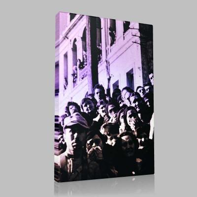 Siyah Beyaz Atatürk Resimleri  198 Kanvas Tablo