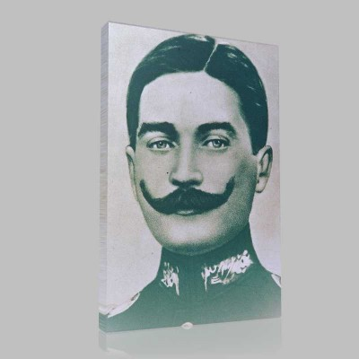 Siyah Beyaz Atatürk Resimleri  201 Kanvas Tablo