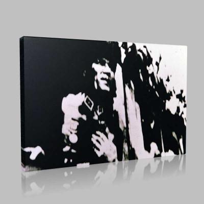 Siyah Beyaz Atatürk Resimleri  228 Kanvas Tablo