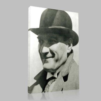 Siyah Beyaz Atatürk Resimleri  234 Kanvas Tablo