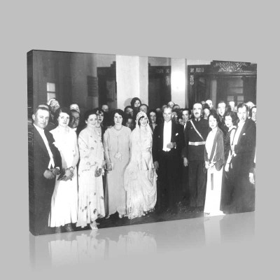 Siyah Beyaz Atatürk Resimleri  260 Kanvas Tablo