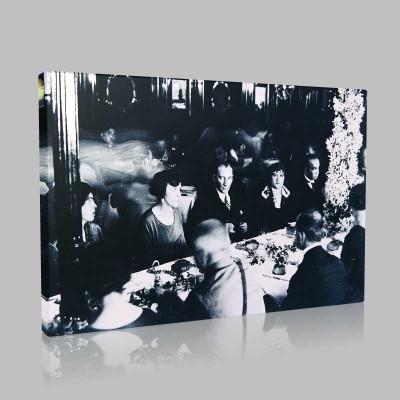 Siyah Beyaz Atatürk Resimleri  336 Kanvas Tablo