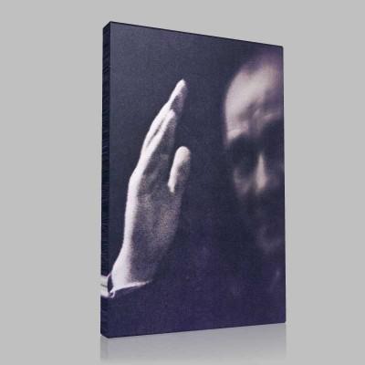 Siyah Beyaz Atatürk Resimleri  365 Kanvas Tablo