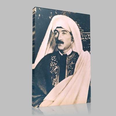 Siyah Beyaz Atatürk Resimleri  81 Kanvas Tablo