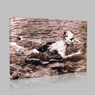Siyah Beyaz Atatürk Resimleri  87 Kanvas Tablo