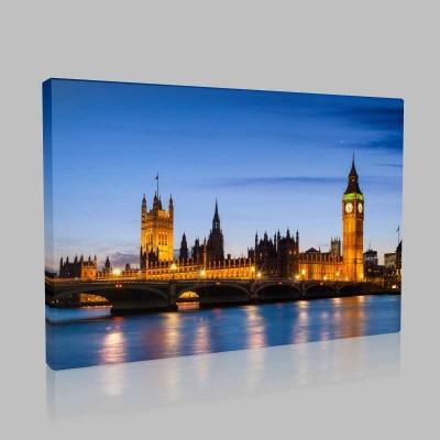 Big Ben Londra İngiltere Kanvas Tablo