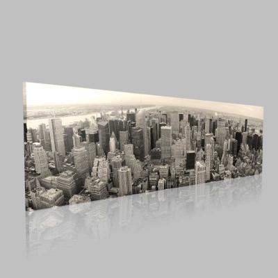 Şehir Ve Yalnızlık Kanvas Tablo