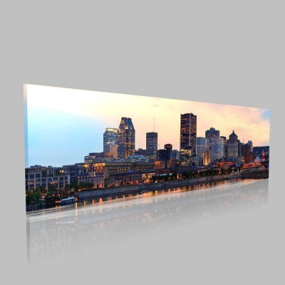 Montreal  Kanvas Tablo