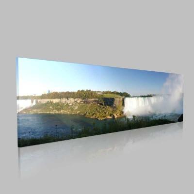 Niagara Sonbahar Panorama Kanvas Tablo