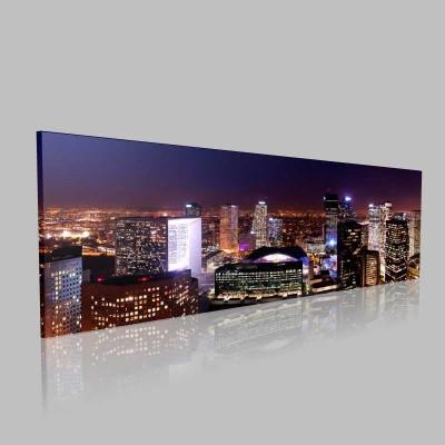 Paris Panorama Kanvas Tablo
