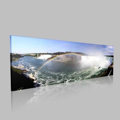 Panorama Niagarafalls2 Kanvas Tablo