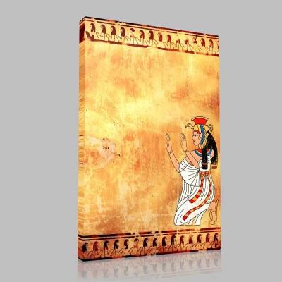 Egyptian Wall Kanvas Tablo