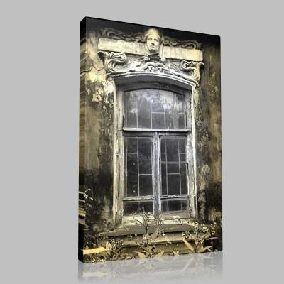 Hayalet Evin Penceresi Kanvas Tablo