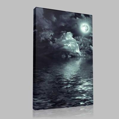 Karanlık Ay Kanvas Tablo