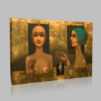 Kleopatraya Övgü Kanvas Tablo