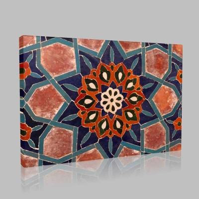 İslam El Sanatları 4 Kanvas Tablo