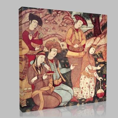 İslam El Sanatları Kanvas Tablo