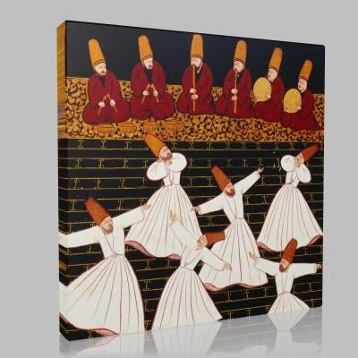 İslam Kültürü Minyatürleri  Kanvas Tablo